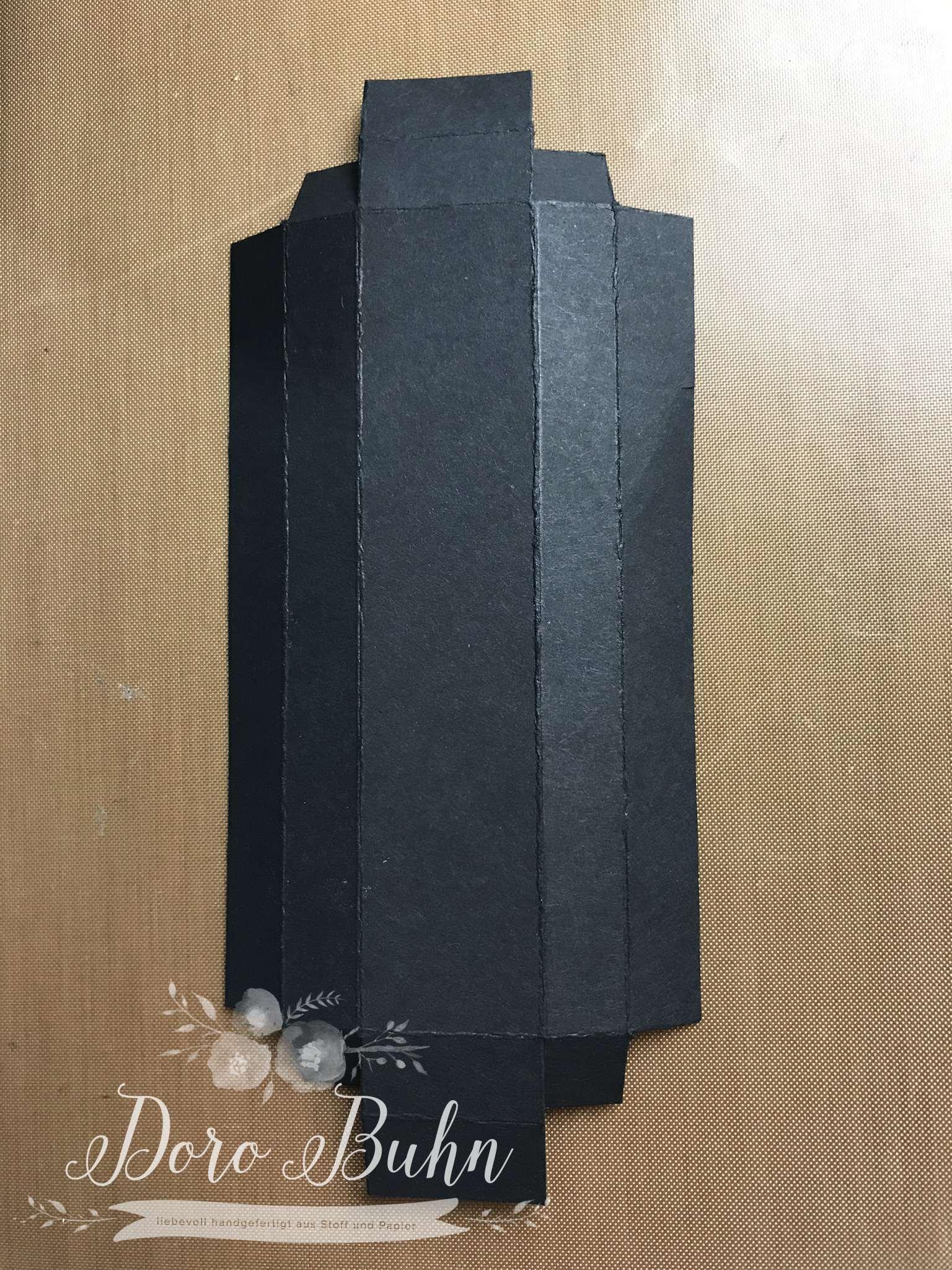 Verpackung für die längste Praline der Welt